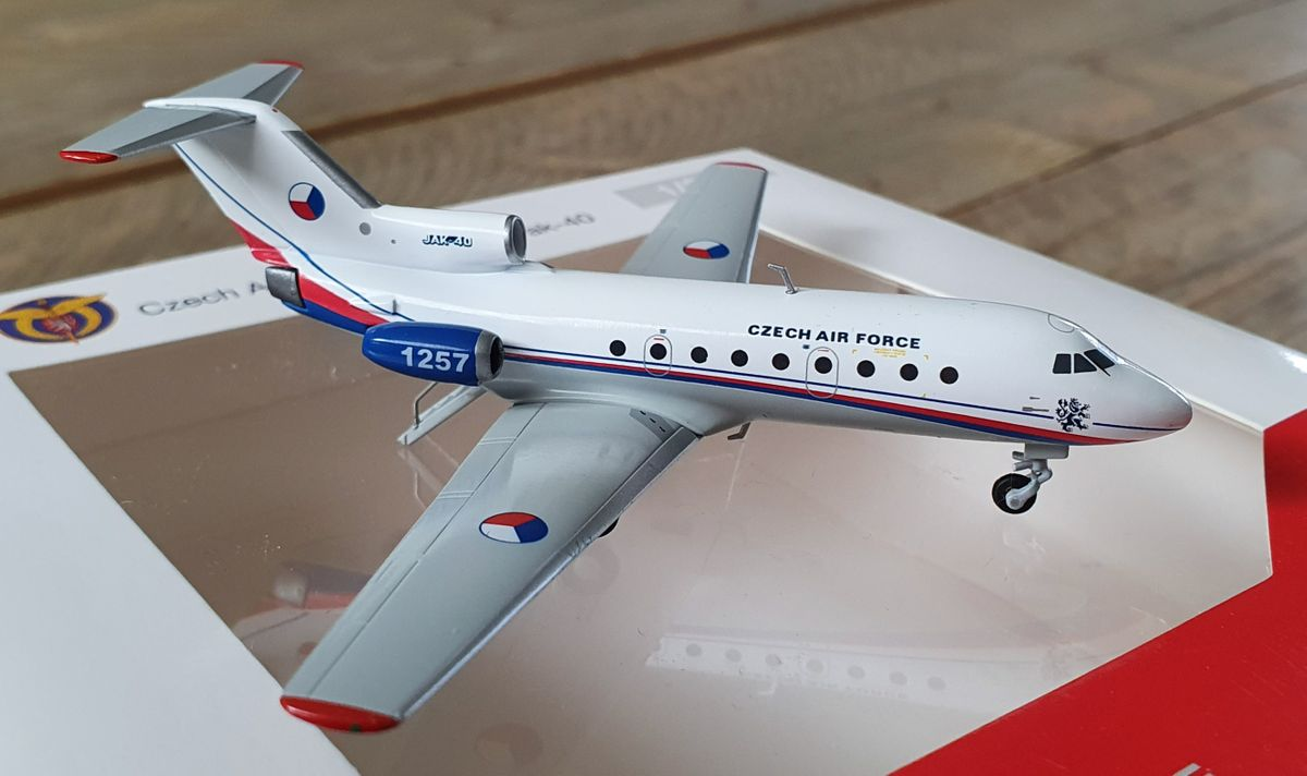 Herpa Yakovlev Yak-40 Czech Air Force 559898 €44,95