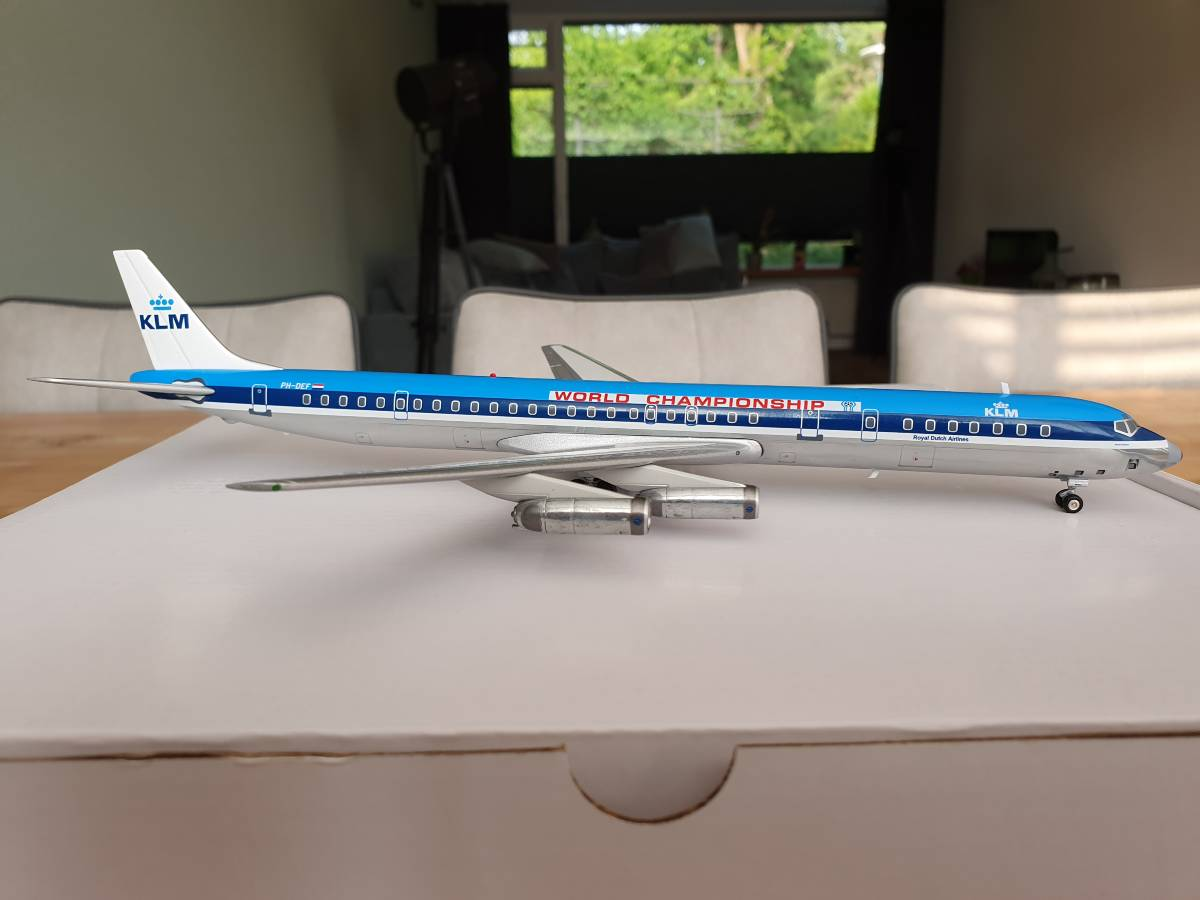 "Inflight200 Douglas DC-8-63 KLM PH-DEF ""World Championship 1978"" €100"