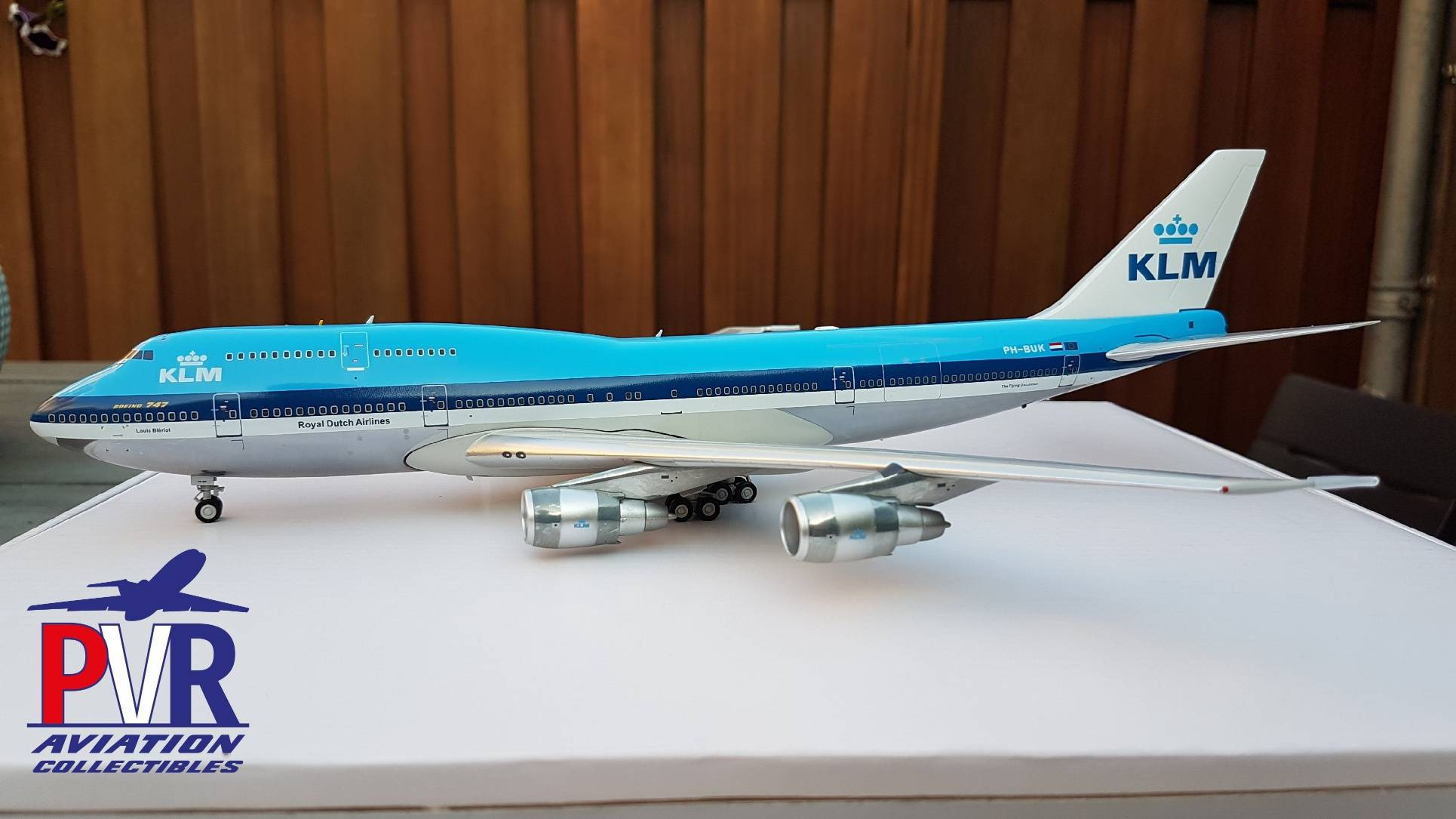 INFLIGHT200 BOEING 747-206BM(SUD) KLM POLISHED IF742SUD0118P €135