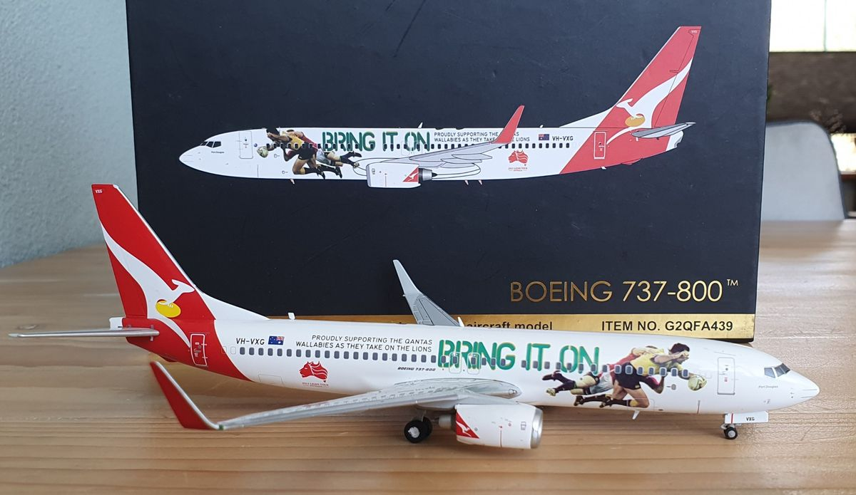 Gemini200 Boeing 737-800 Qantas 'Bring it on' G2QFA439 €65
