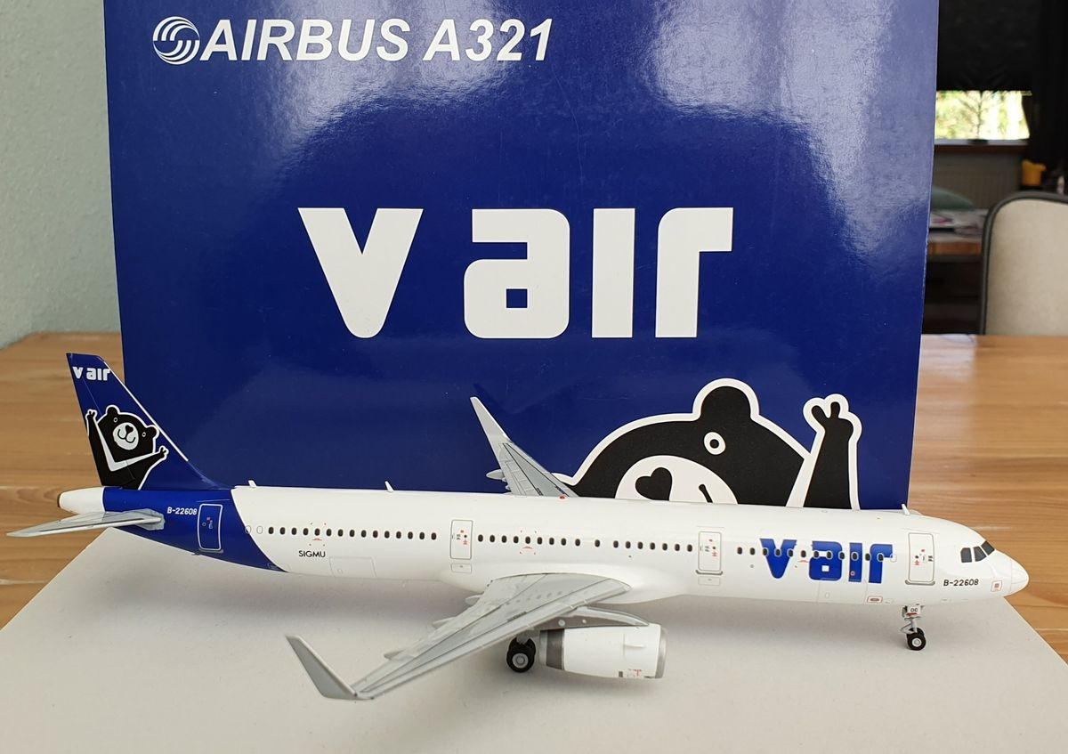 JC Wings Airbus A321 V Air LH2025 €65