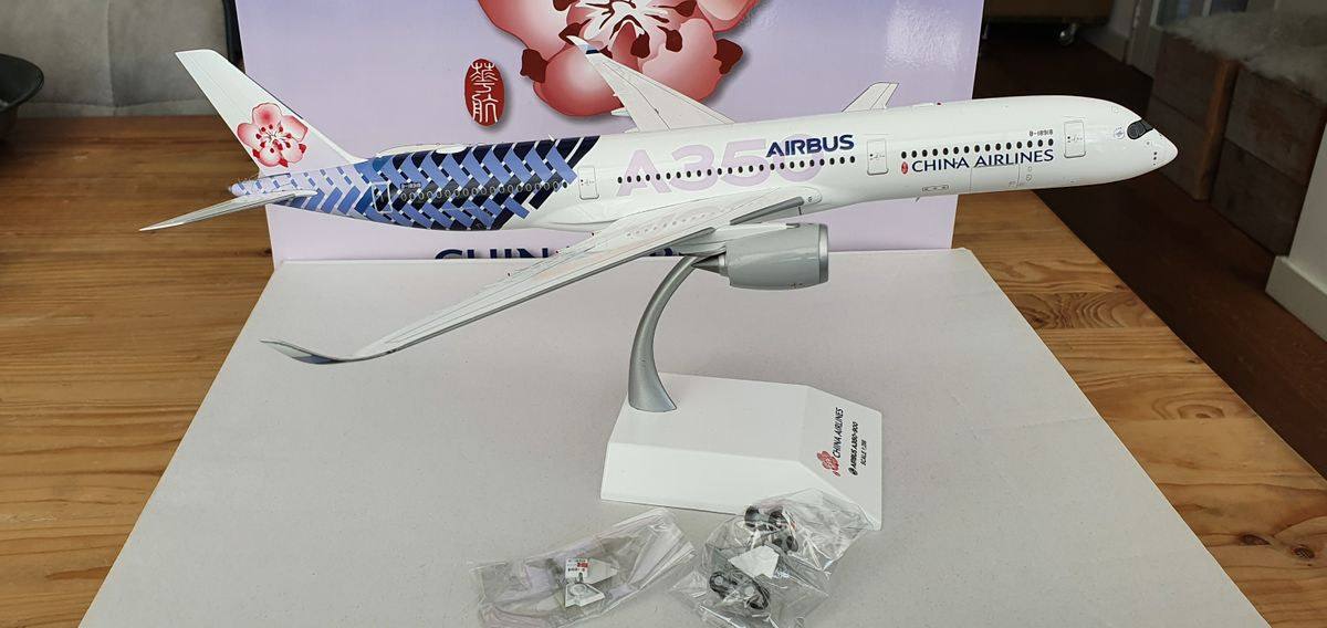 JC Wings Airbus A350-900 China Airlines 'Carbon' XX2141 €109