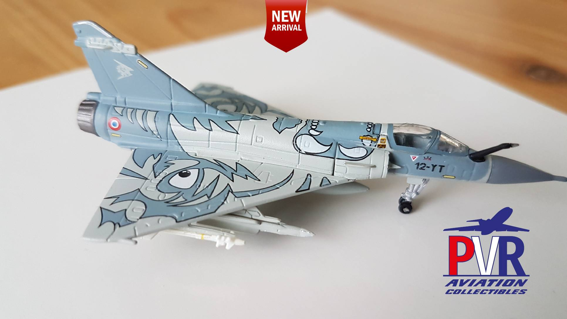 Herpa 1:200 French Air Force Dassault Mirage 2000C