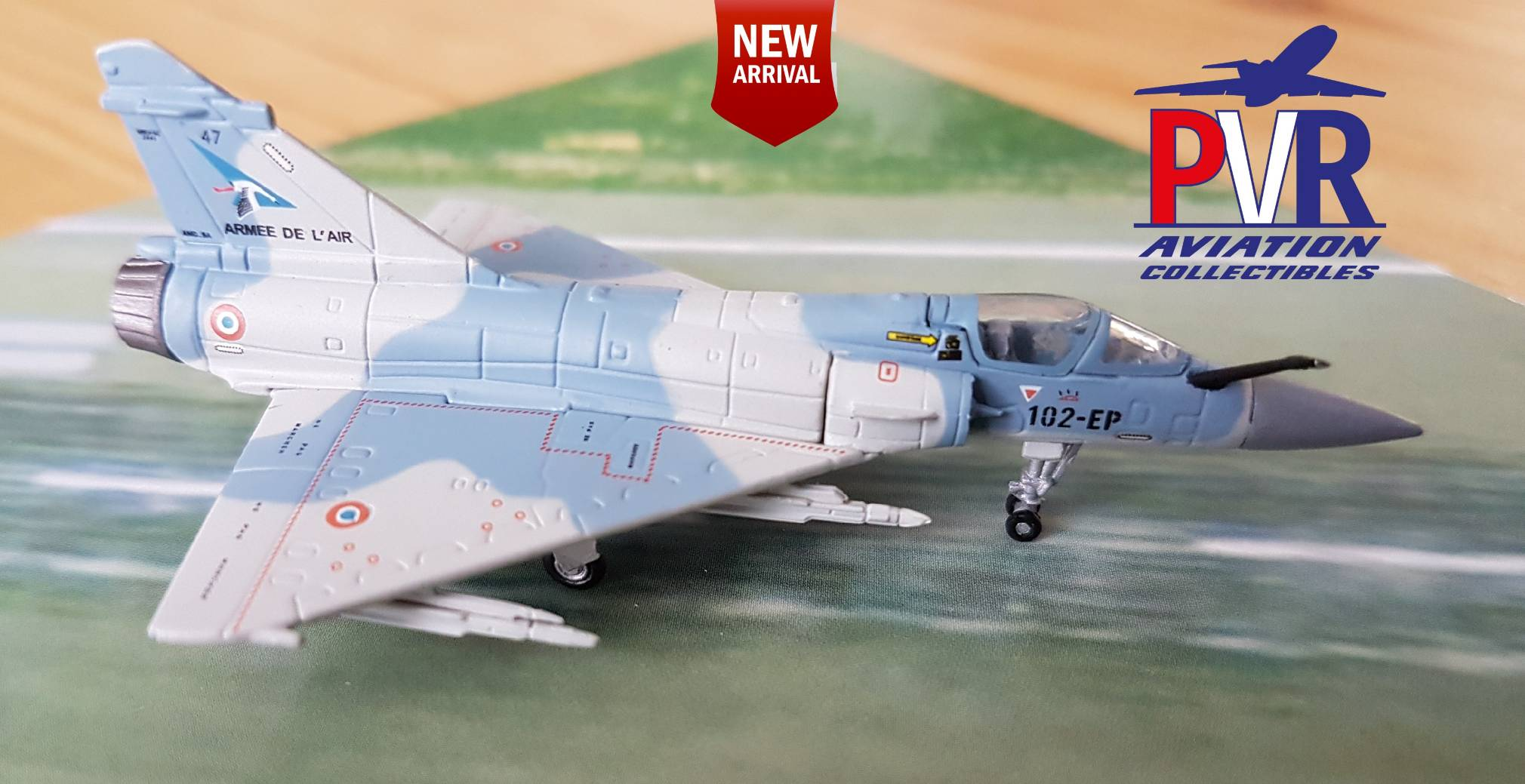 Herpa 1:200 French Air Force Dassault Mirage 2000-5F